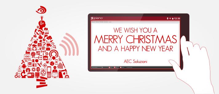 AEC Soluzioni wishes you happy holidays