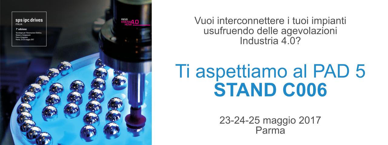 AEC Soluzioni partecipa a SPS IPC Drives Italia 2017