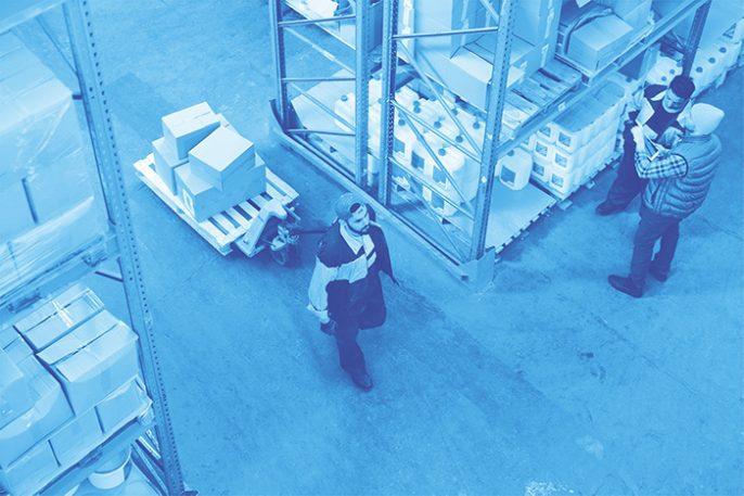Warehouse management and Logistics 4.0
